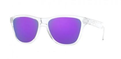 Oakley FROGSKINS XS 0OJ9006 900614 Polished Clear - Prizm Violet