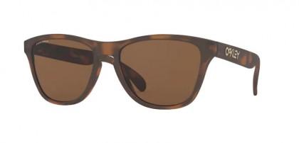 Oakley FROGSKINS XS 0OJ9006 900616 Matte Brown Tortoise - Prizm Tungsten