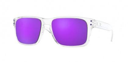 Oakley HOLBROOK XS 0OJ9007 900702 Polished Clear - Violet Iridium