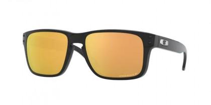 Oakley HOLBROOK XS 0OJ9007 900707 Polished Black - Prizm Rose Gold Polarized