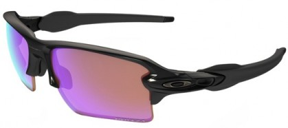 Oakley SPORT 0OO9188 FLAK 2.0 XL 918805 - Polished Black - Prizm Golf