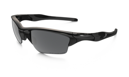 Oakley Polarized Half Jacket 2.0 XL 9154-05 - Polished Black / Black Iridium Polarized