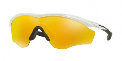 Oakley 0OO9343 M2 FRAME XL 934305 Polished White - Fire Iridium