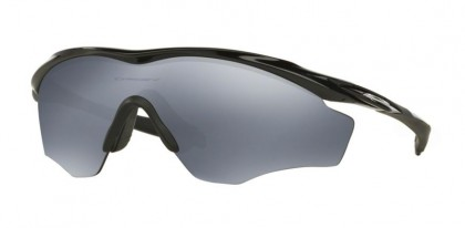 Oakley 0OO9343 M2 FRAME XL 934309 Polished Black - Black Iridium Polarized