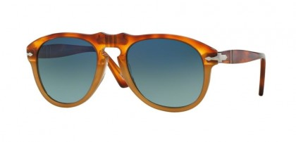 Persol 0PO0649 1025/S3 Resin and Sale - Blue Gradient Polarized