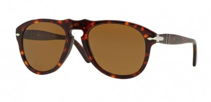 Persol 0PO0649 24/57 Havana - Crystal Brown Polarized
