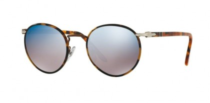 Persol 0PO2422SJ 1065O4 Brown - Grey Mirror Blue