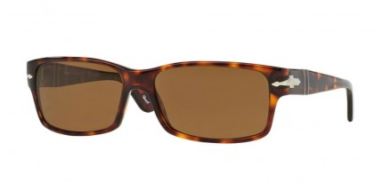 Persol 0PO2803S 24/57 Havana - Crystal Brown Polarized