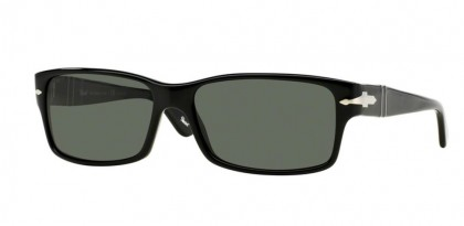Persol 0PO2803S 95/58 Black - Crystal Green Polarized