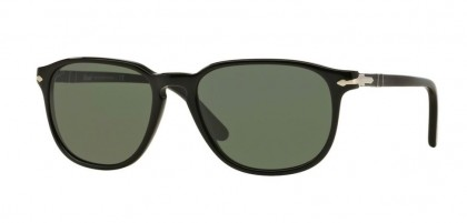 Persol 0PO3019S 95/31 Black - Crystal Green