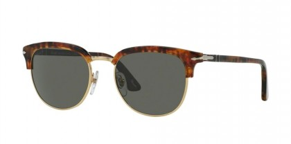 Persol 0PO3105S 108/58 Cafe - Green Polarized