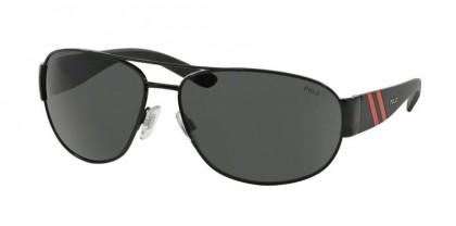 Polo Ralph Lauren 0PH3052 900387 Shiny Black - Gray
