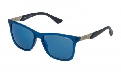 Police SK053 6TMB Blue Cobalt Opaline - Smoke Mirror Blue