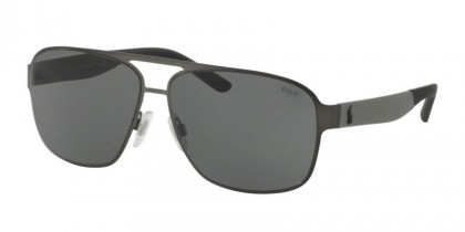 Polo Ralph Lauren 0PH3105 915787 Matte Dark Gunmetal - Grey