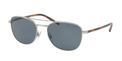 Polo Ralph Lauren 0PH3107 932681 Aged Silver - Grey Polarized