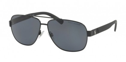 Polo Ralph Lauren 0PH3110 926781 Demigloss Black - Gray Polarized