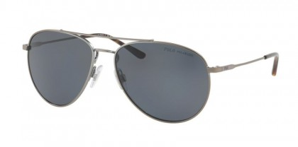 Polo Ralph Lauren 0PH3111 933081 Demigloss Gunmetal - Gray Polarized