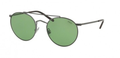 Polo Ralph Lauren 0PH3114 915771 Semishiny Dark Gunmetal - Green