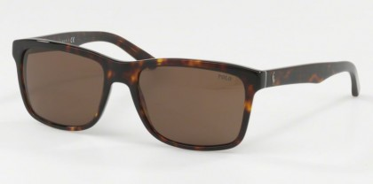 Polo Ralph Lauren 0PH4098 567373 Shiny Dark Havana - Brown