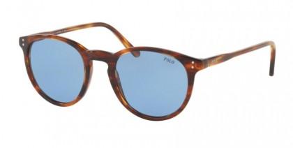 Polo Ralph Lauren 0PH4110 500772 Striped Havana - Light Blue