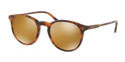 Polo Ralph Lauren 0PH4110 50172O Shiny Jerry Tortoise - Dark Brown Mirror Gold Polarized