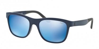 Polo Ralph Lauren 0PH4120 562055 Shiny Navy Blue - Mirror Blue