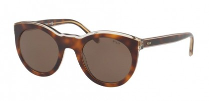 Polo Ralph Lauren 0PH4124 564073 Light Havana on Smoke Crystal - Brown