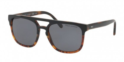 Polo Ralph Lauren 0PH4125 526081 Shiny Top Black on Jerry - Grey Polarized