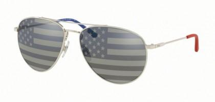 Polo Ralph Lauren 0PH3111 9001V4 Silver - Grey Tam American Flag Sil Blu