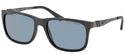 Polo Ralph Lauren 0PH4088 528481 Matte Black - Grey Polarized