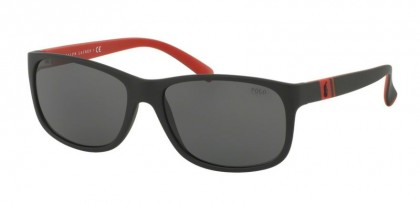 Polo Ralph Lauren 0PH4109 524787 Matte Black - Grey