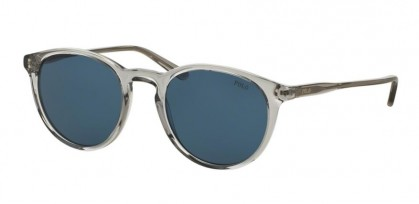 Polo Ralph Lauren 0PH4110 541380 Shiny Semi Trasparent Grey - Dark Blue