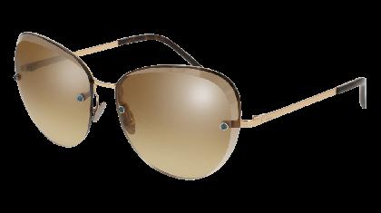 Pomellato PM0029S-002 Gold - Brown Shaded