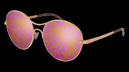 Pomellato PM0034S-004 Gold - Pink Multicolor Fantasy