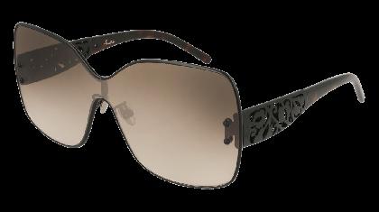 Pomellato PM0044S-002 Black - Brown Shaded