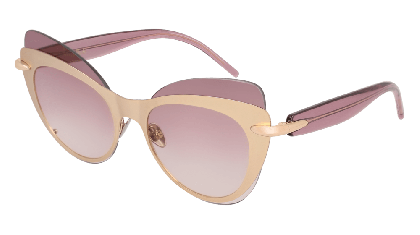 Pomellato PM0046S-002 Rose Gold - Violet Shaded