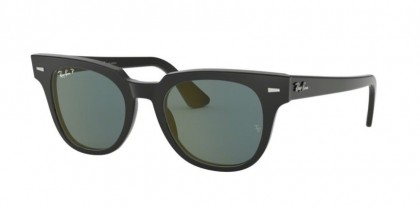 Ray Ban 0RB2168 901/52 METEOR Black - Blue Polarized Mirror Gold