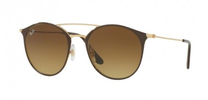 Ray Ban 0RB3546 9009/85 Gold Top Brown - Brown Gradient