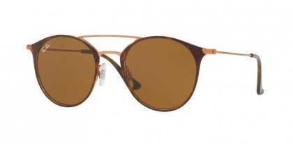 Ray Ban 0RB3546 9074 Copper on Top Havana - Brown