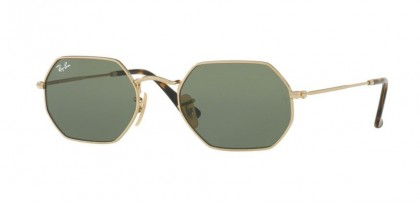 Ray Ban 0RB3556N 001 Gold - Green