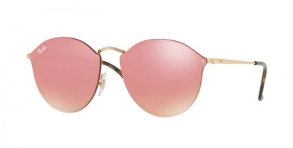 Ray Ban 0RB3574N 001/E4 Gold - Pink Mirror Pink