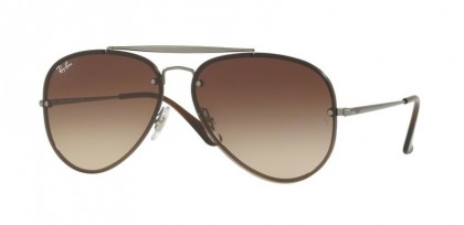 Ray Ban 0RB3584N 004/13 Gunmetal - Brown Gradient Dark Brown