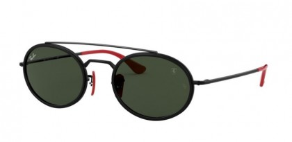 Ray-Ban 0RB3847M F02831 Black - Green