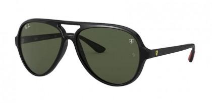 Ray-Ban 0RB4125M F60131 Black - Green