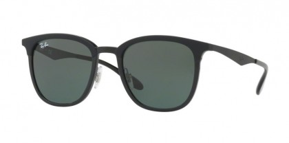 Ray Ban 0RB4278 628271 Black Matte Black - Green