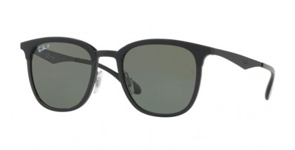 Ray Ban 0RB4278 62829A Black Matte Black - Green Polarized