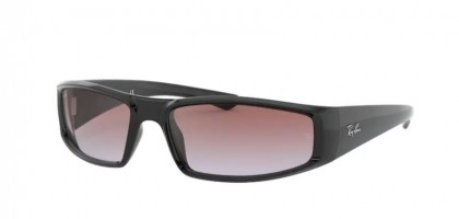 Ray-Ban 0RB4335 601/I8 Black - Light Blue Gradient Violet