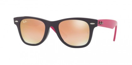 Ray Ban Junior 0RJ9066S 7021/B9 Violet - Green Gradient Brown Mirror Pink