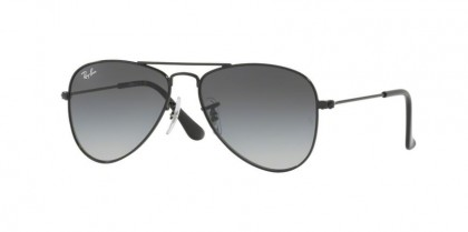 Ray Ban Junior 0RJ9506S RJ9506S 220/11 Shiny Black - Light Grey Gradient Dark Grey