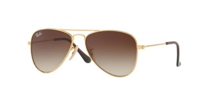 Ray Ban Junior 0RJ9506S RJ9506S 223/13 Gold - Brown Gradient
